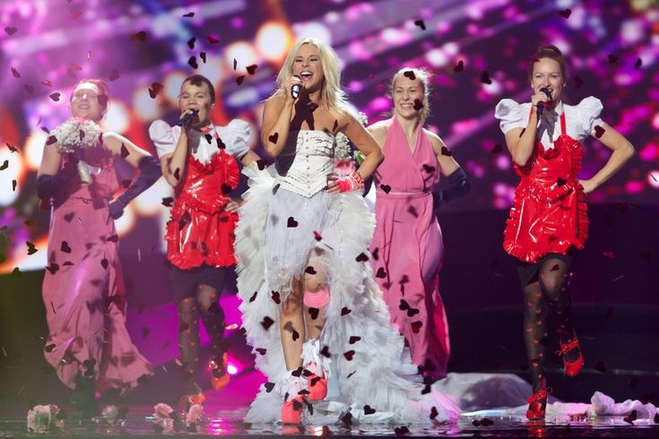 Krista Siegfrids Photos - Eurovision Song Contest Held in Sweden - Zimbio
