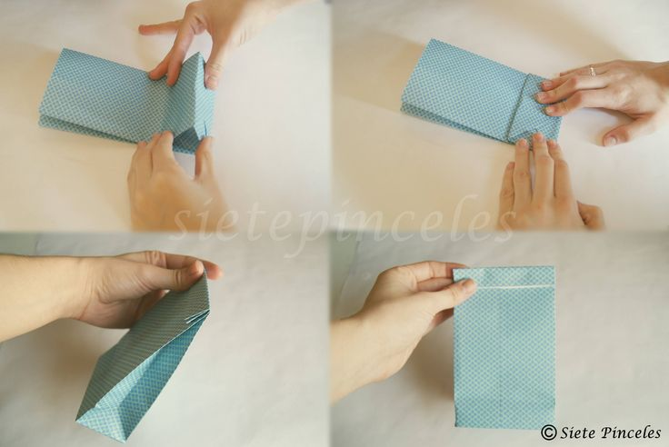 Como hacer bolsitas de papel para sorpresitas imagui - Como hacer cadenetas de papel para fiestas ...