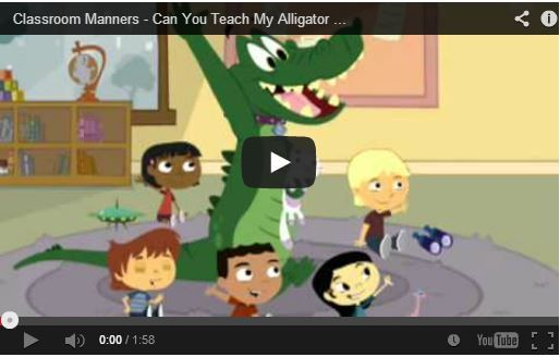 Fun video to establish expectations for classroom rules! Children will learn the importance of raising hand to speak and sitting quietly and still during story time.