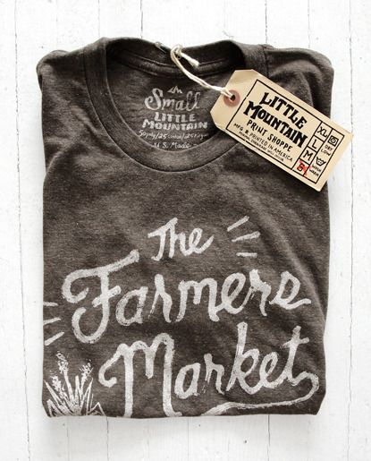 Image of The Farmers Market  || Little Mountain Print Shoppe
