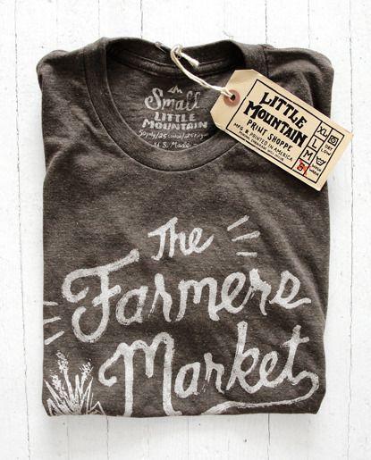 Image of The Farmers Market  || Little Mountain Print Shoppe