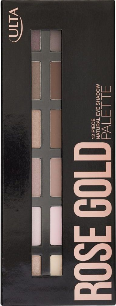 ulta rose gold eyeshadow palette