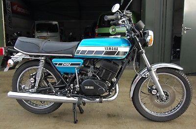 eBay: 1976 YAMAHA RD400 C CLASSIC 2 STROKE FOR SALE GENUINE UK BIKE MATCHING NUMBERS #motorcycles #biker