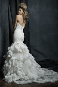 C384 Allure Couture Wedding dress