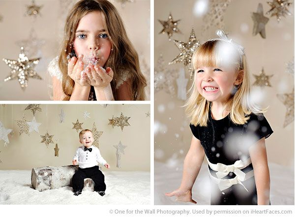 Holiday / Christmas Mini Photography Session Tips via One for the Wall Photography and iHeartFaces.com