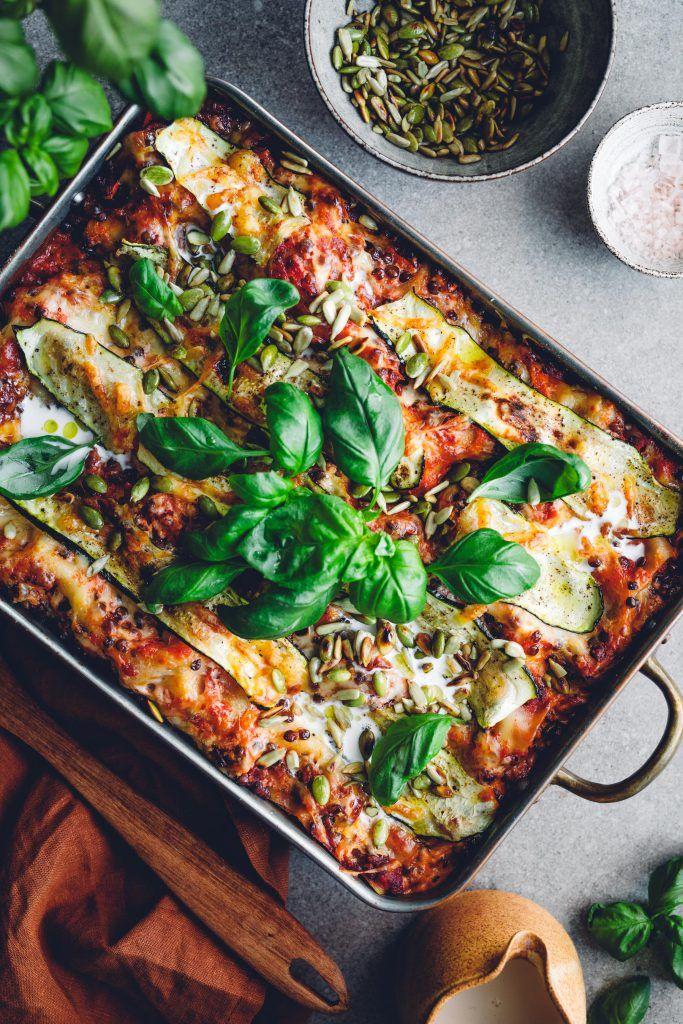 vegetarisk lasagne rödbetor