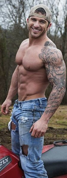 Muscle Tattoo Sleeve: Tiger Sleeve Muscle Men Tattoos Egodesigns