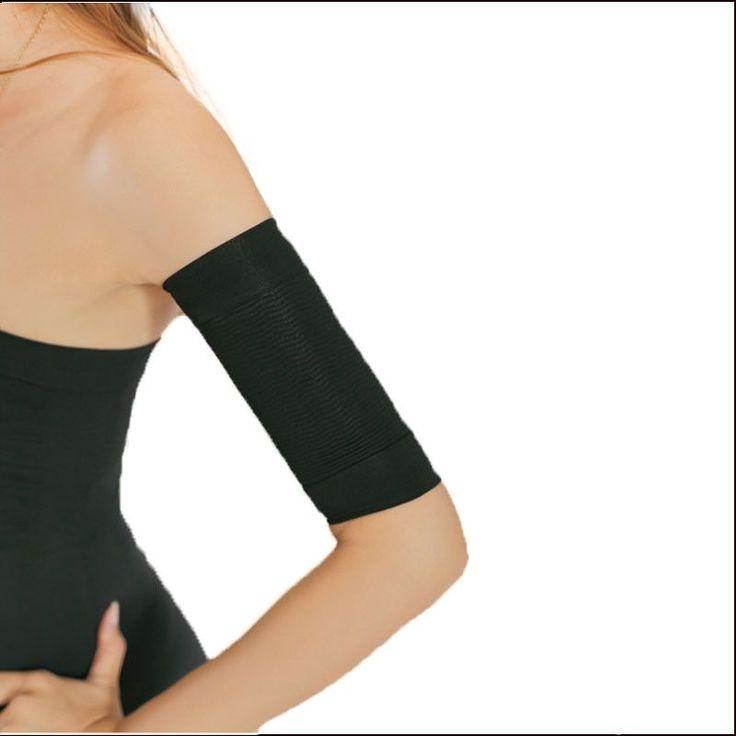 Black arm shapers women slimming weight loss arm shapewear Slimmer girdle hot ladies arms fat burner shoulder corrector -C