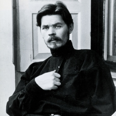 Maxim Gorky was a Russian writer who wrote about the lower depths of society. He was a critic of both Lenin and Stalin and died under mysterious circumstances