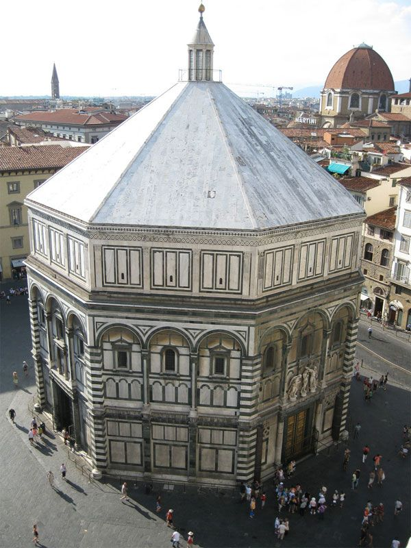 Baptistery  Florence, Italy
