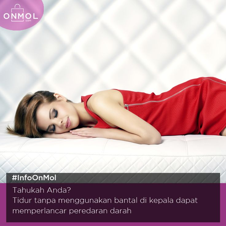 Meski keliatan gak nyaman, tidur tanpa bantal ternyata menyehatkan lho. Mau hidup sehat? Klik dsini http://bit.ly/2aNymU0 #OnMolID #Info #Fakta #Tips #Kesehatan