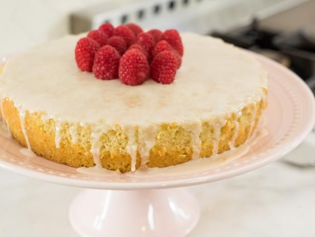 Lemon Olive Oil Cake Recipe from Ayesha's Home Kitchen on Food Network.  IDEA for Hannah's BABY Shower