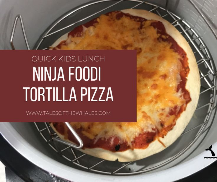 Need a quick lunch idea for the kids or yourself?  Make a tortilla pizza in your…