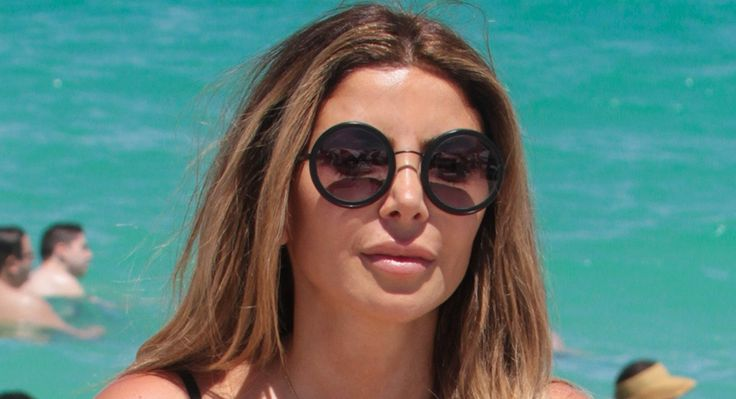 July 3 2017: Real Housewives of Miami star Larsa Pippen shows off her sexy curves in a two-piece bikini while spending the day at the beach with a girlfriend. Larsa took a dip in the water to cool off and mingle with her girlfriend before heading back to bathe under the sun with her coconut. Larsa looked good in her swimsuit. Just not as good as she used to . . .