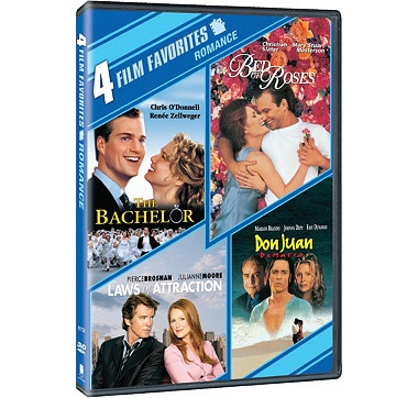 Exclusive to The Shopping Channel, this DVD offers four of your favourite romantic comedies all in one package! #ilovetoshop