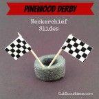 pinewood derby neckerchief slides1