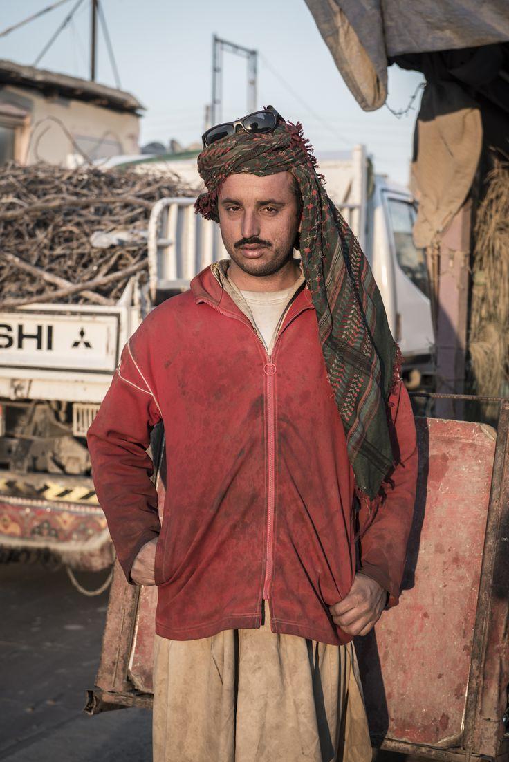 Portrait of a Pakistani migrant worker - Gulf Region - Photo by Stefanistan