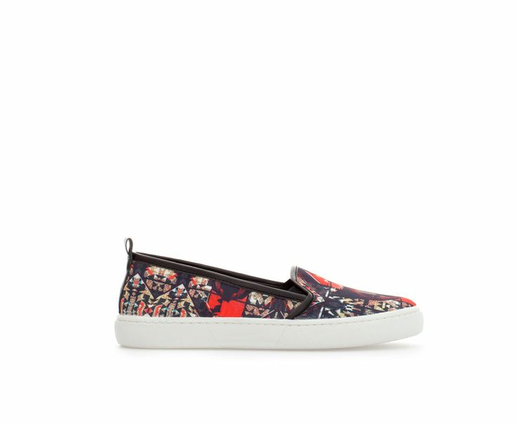 Image 1 of PRINTED PLIMSOLL from Zara