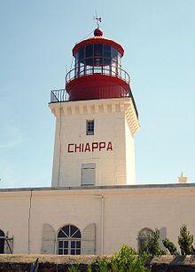 Phare de la Chiappa, Corse