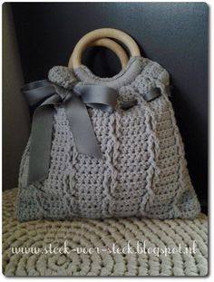 Steek voor steek: patroon tas(je)