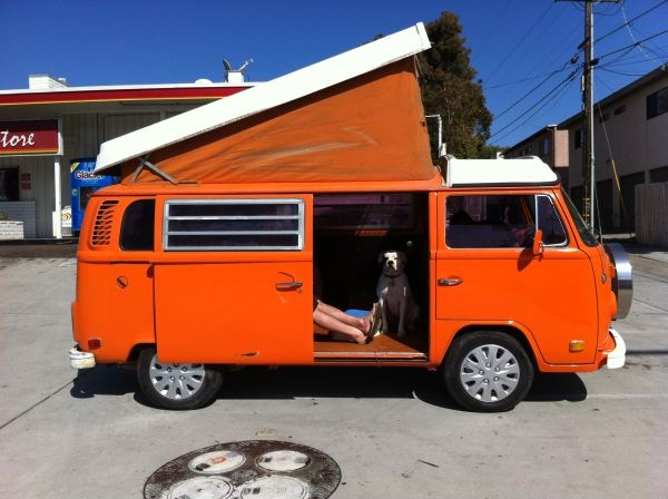 you won 39 t get lost camping in this westy 1975 vw westfalia craigslist dreams pinterest. Black Bedroom Furniture Sets. Home Design Ideas
