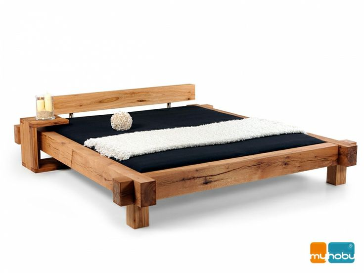 mammut doppelbett massivholzbett sumpfeiche ge lt. Black Bedroom Furniture Sets. Home Design Ideas