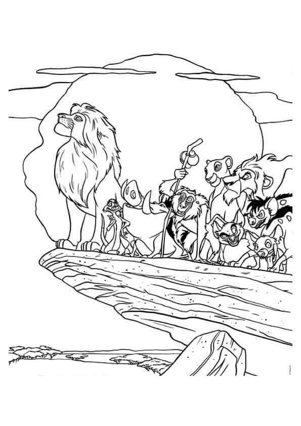 Free Printable The Lion King Coloring Pages Lion Coloring Pages Disney Coloring Pages King Coloring Book