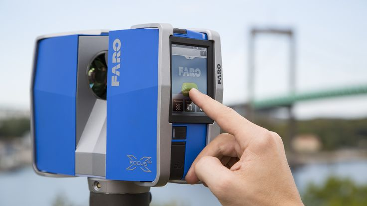 The brand new Faro Focus3D X330 has arrived! 300m laser scanning range - can't go wrong there