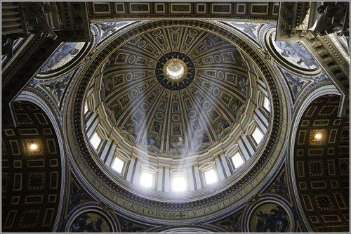 Cúpula de la Basílica de San Pedro (Vaticano)