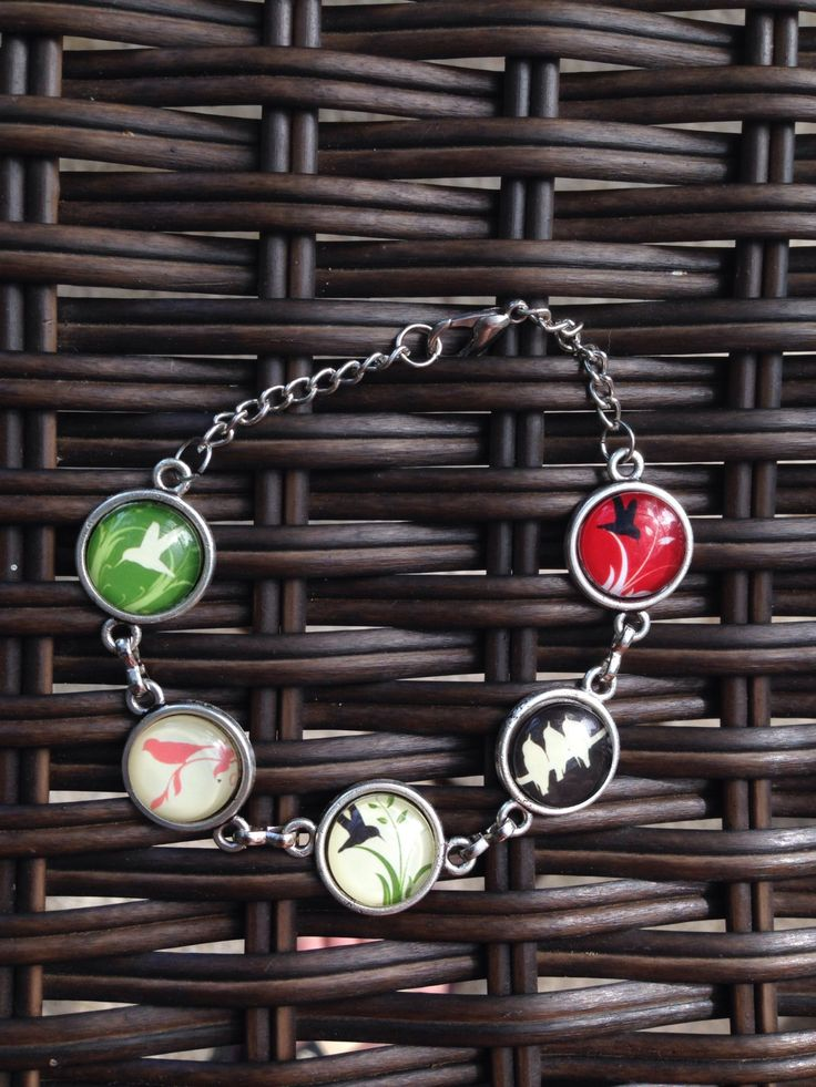 Bird Silhouette Bracelet - pinned by pin4etsy.com