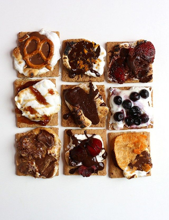 With National S'mores Day coming next Monday (August 10th!), I've decided to reinvent the classic campfire favorite with 9 deliciously unique flavor combinations. Whether you prefer to enjoy the go...
