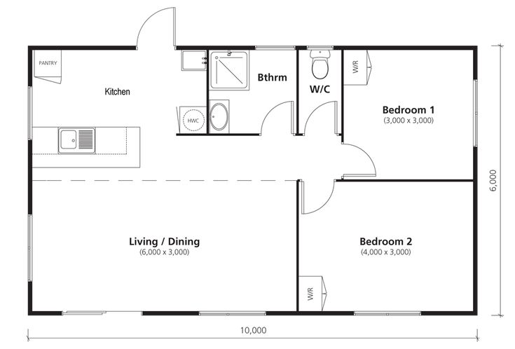 marlin floorplan