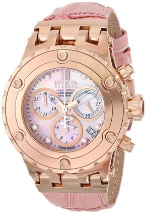 Invicta Women's Pink Watch...  I think this maybe  my next Invicta purchase.... totally love!!!!!!!