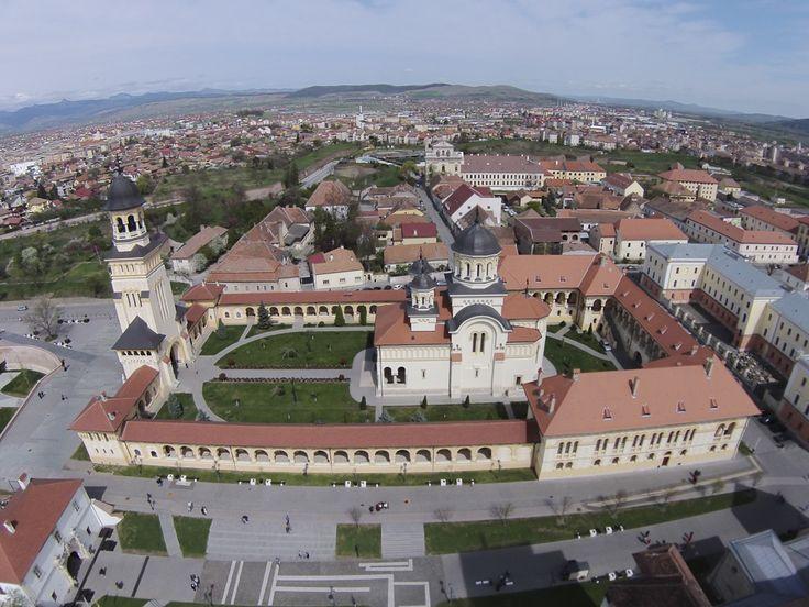 Fotografie aeriană, realizată în Alba Iulia, marţi, 15 aprilie 2014. (  Cătălin Cădan / Mediafax Foto  ) - See more at: http://zoom.mediafax.ro/travel/vederi-aeriene-din-romania-13244731#sthash.dKOeESwd.dpuf