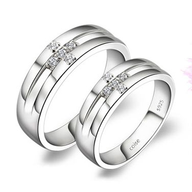 Great unique wedding rings sets for him and her Gullei Trustmart Custom Engraved wedding couple