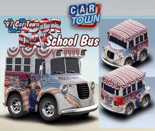 ¡El ganador del concurso de skin del Día del Trabajo para el School Bus es Janet Khor! ¡Felicitaciones a Janet Khor por la victoria y por el premio de 100 Puntos Azules para Car Town! ¡Esté atento a tu próxima chance de ganar!