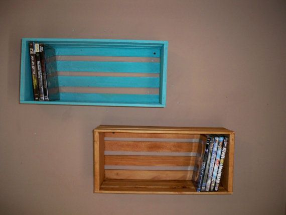 Crate ShelvingWood Crate ShelvingCrate shelf's by HummelCreations, $22.00