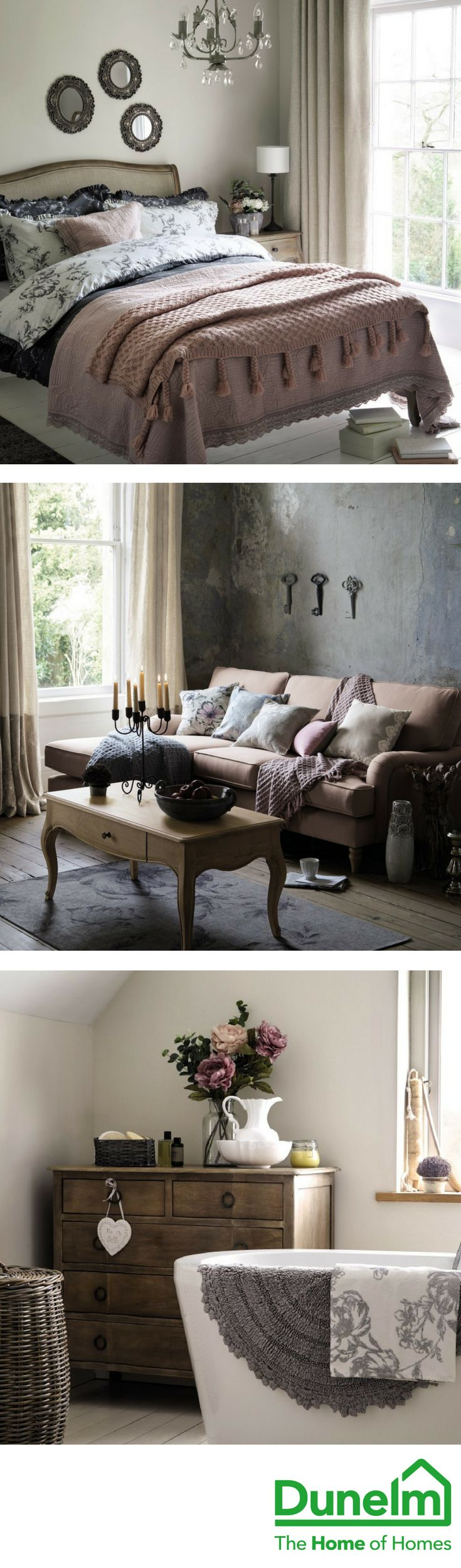 This season's Maison Francaise trend combines classic shapes with French antique style, modernised with soft pastel highlights. Vintage fans will love this sophisticated collection that's brought up to date with the bold introduction of a contrasting dark charcoal and chalk white palette. Centring around the trend for 'pure' design in furniture, classic shapes are reimagined with contemporary colours and finishes