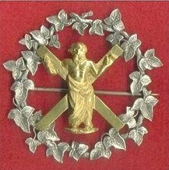 The 89th Regiment of Militia (or Royal Aberdeen Highlanders) - Officers Cap Badge c1870-1881