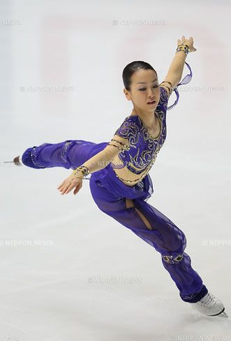 Mao Asada  by Ivan Nicholow?