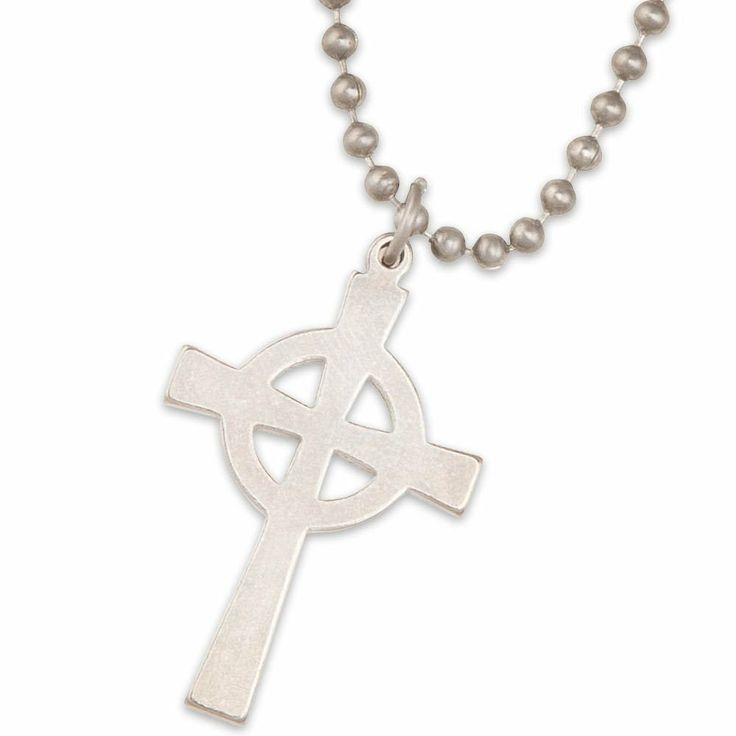 GI Celtic Cross Necklace