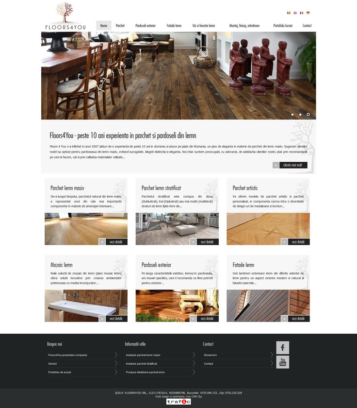 Floors4You - web design / development 2014