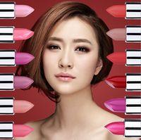 360pcs / lot de los lápices labiales de alta calidad de marca Lip Balm manchas del maquillaje de 12 colores Rojo Rosa Mate color del lápiz labial Waterproof Lápiz labial
