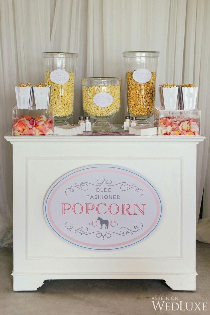 239 best popcorn bar images on Pinterest | Birthdays, Popcorn bar ...