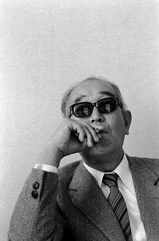 Akira Kurosawa (1910 - 1998). From artist and Art Director in films to Director. His films are absolutely beautiful and thought provoking.