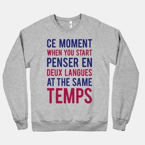 Ce Moment When #french #language #francais