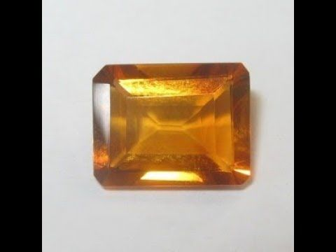 Permata Citrine Madeira Rectangular 1.97 carat