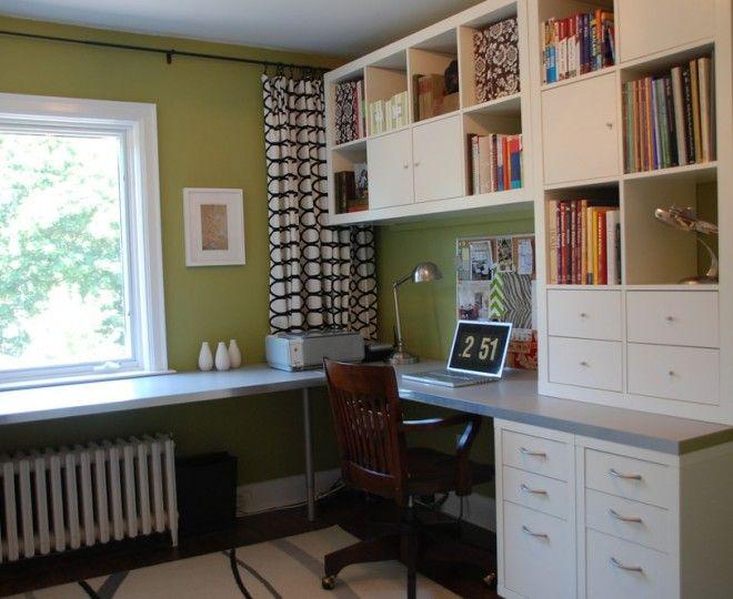 Marvelous Ikea Wall Shelves  mode Toronto Transitional Home Office Innovative…