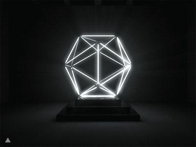 Geometric Light Installation.