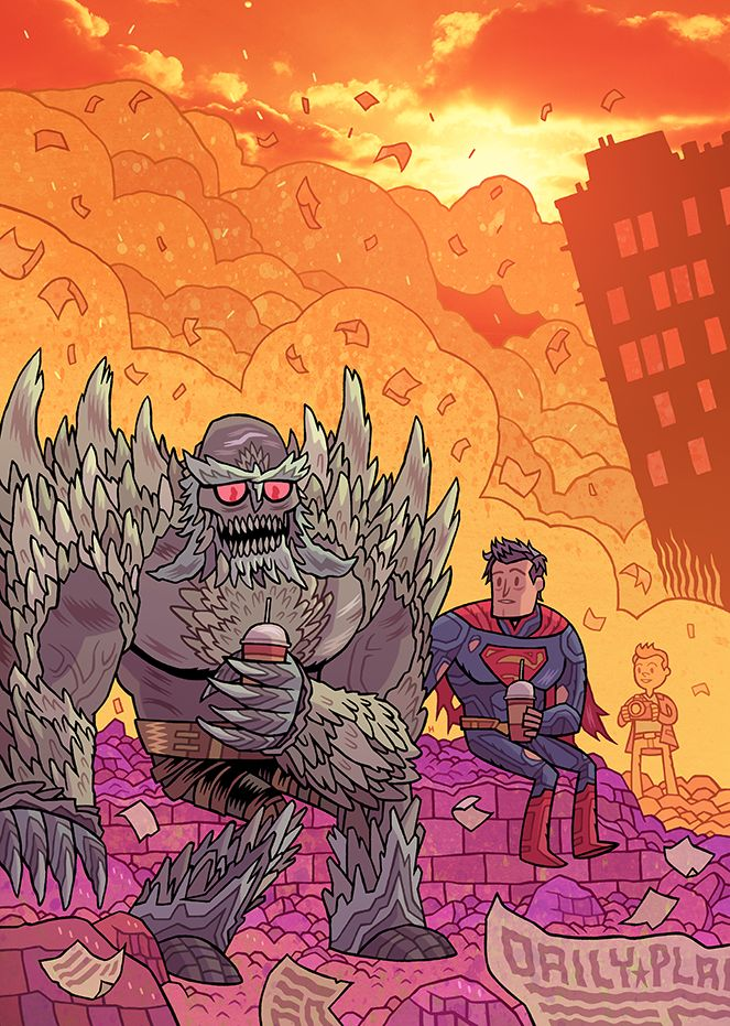 """DAN HIPP — DC Comics' variant cover theme for July is """"Teen..."""